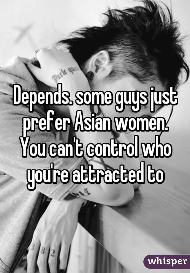 why do men prefer asian women