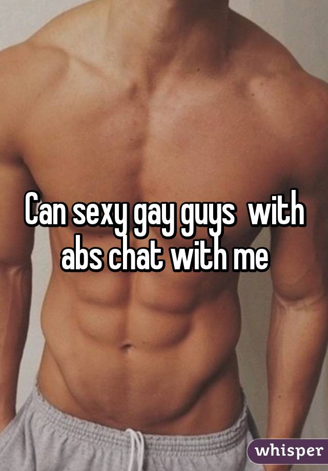 chat sexy gay