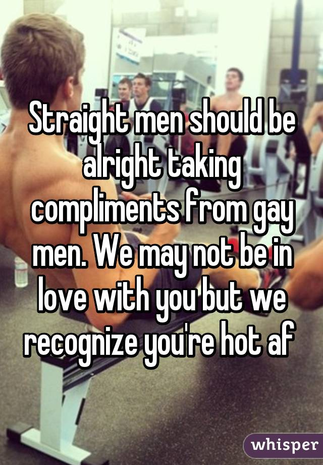 Gay compliments
