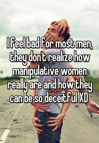 why are women so manipulative