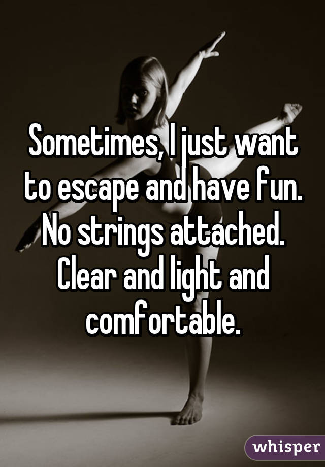 No strings fun