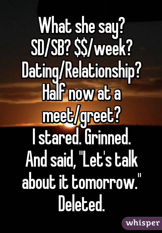sb sd dating)