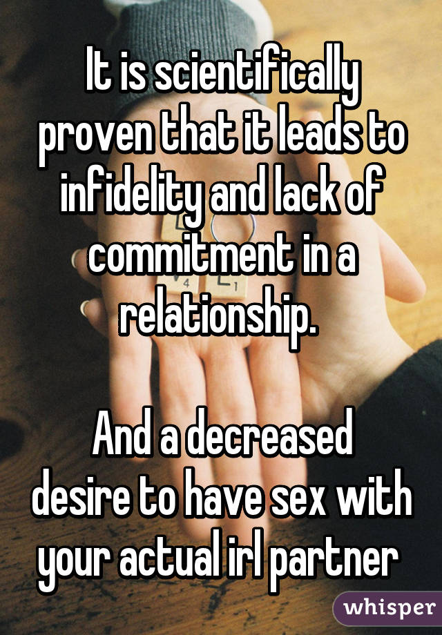 Lack of sex in relationship
