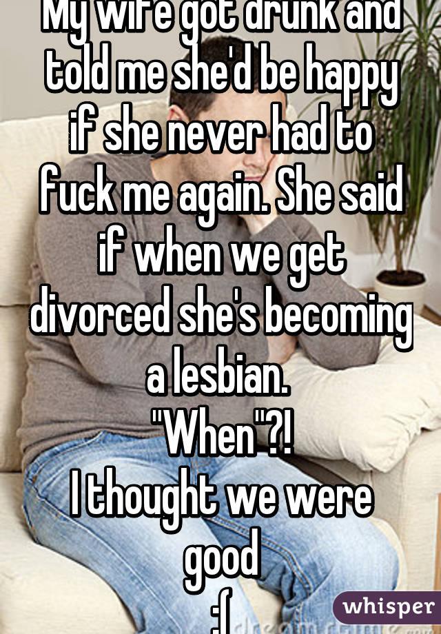 Wife said fuck me