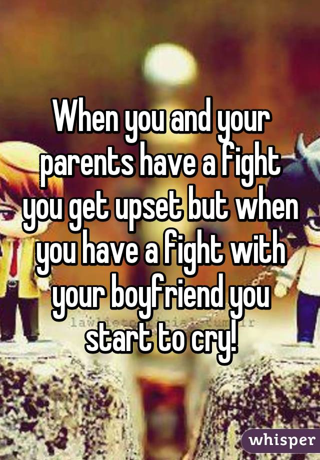 what to do when you and your boyfriend fight