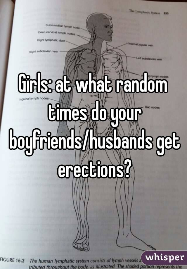 Do girls get erections
