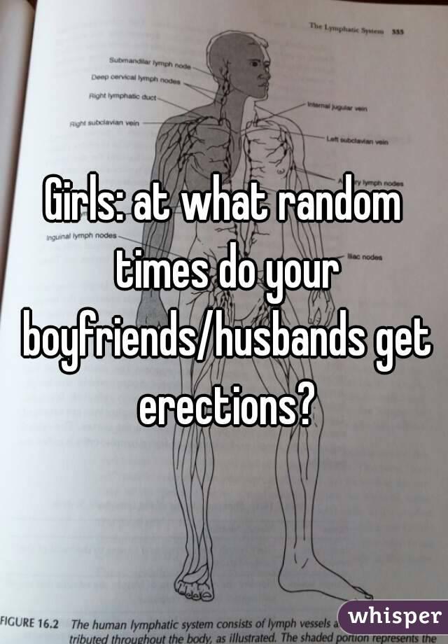 Do girls get erections