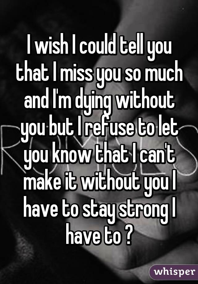 i can t stay without you