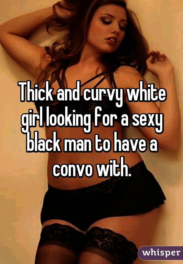 white Sexy thick girls curvy