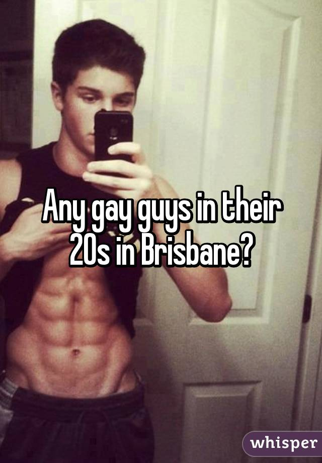 Brisbane gay guys