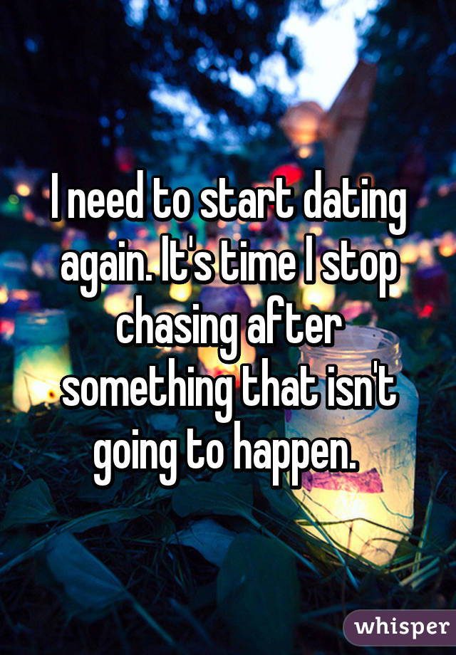 How Do You Know When It Time To Start Dating Again