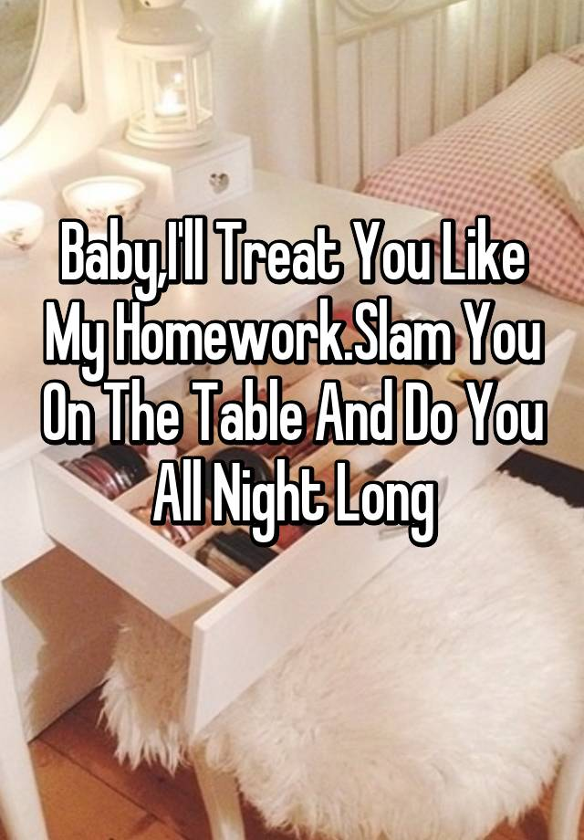 do you like homework
