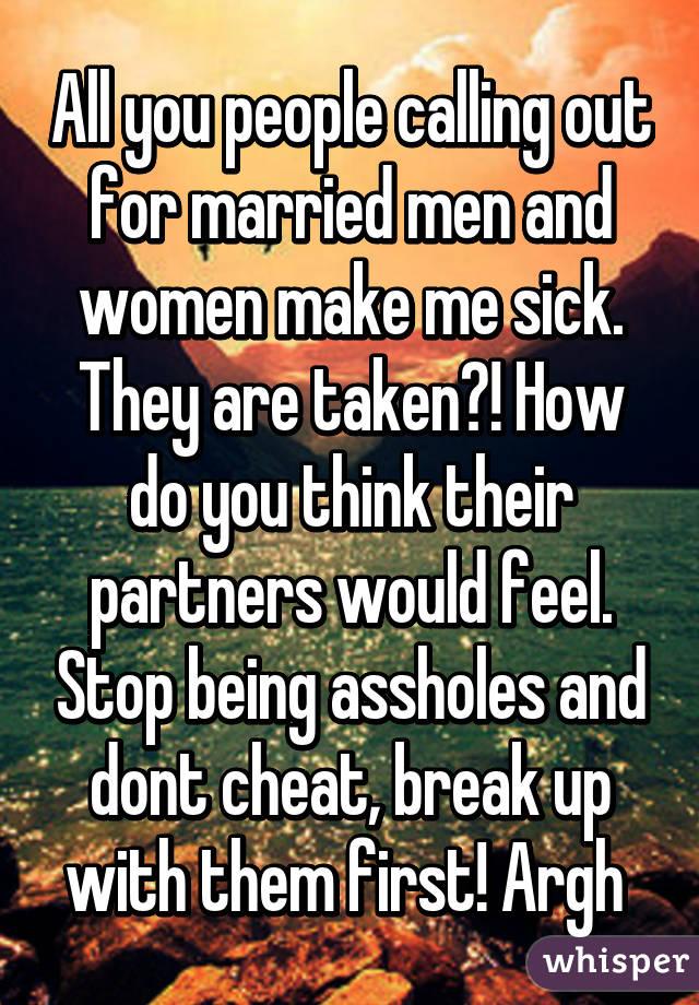 women make me sick