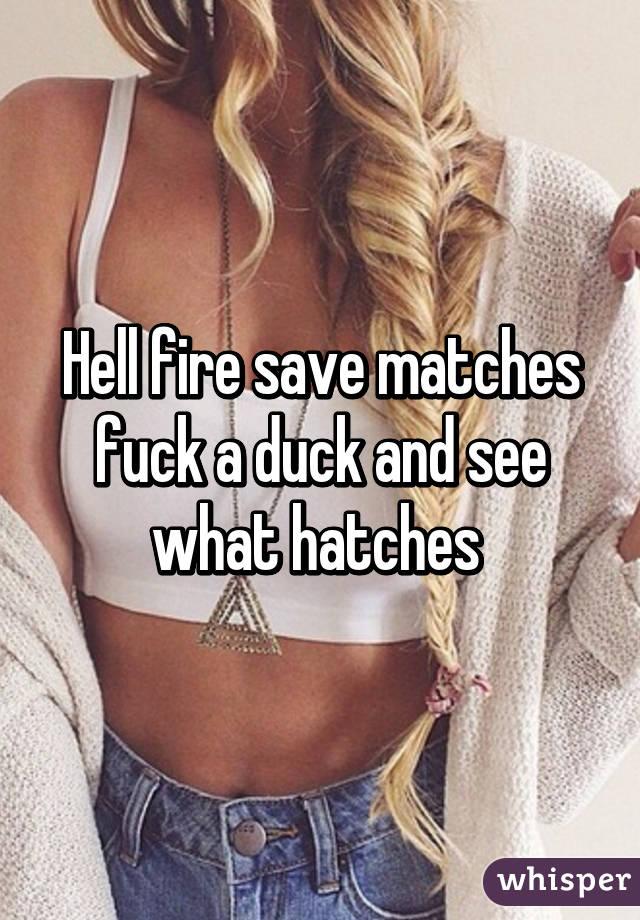 a Fuck duck like