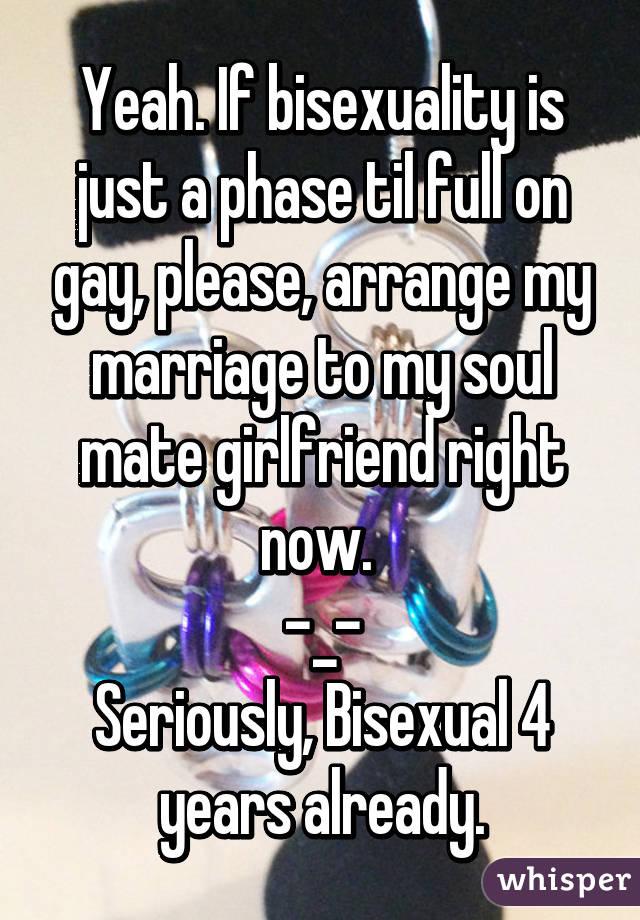 Is my mate bisexual bisexual