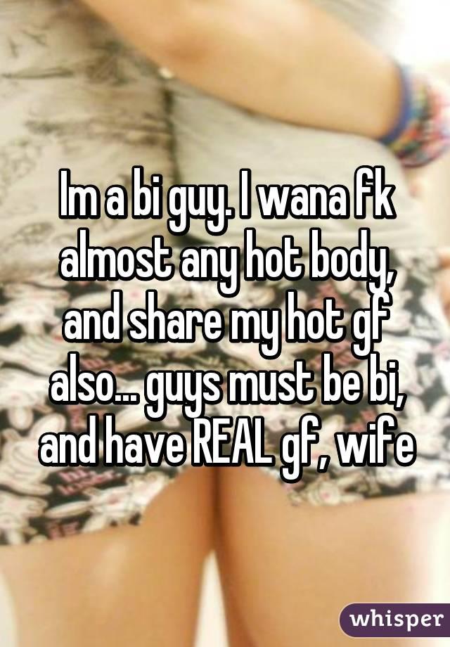 Bi guys their hot gf