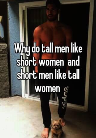Why do men like short women