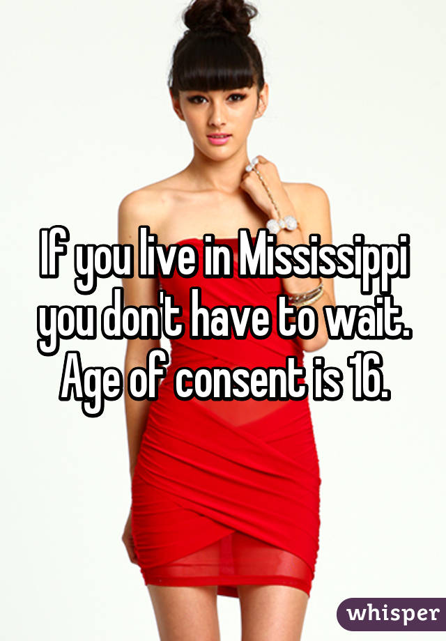 Legal Age Limit For Dating In Mississippi