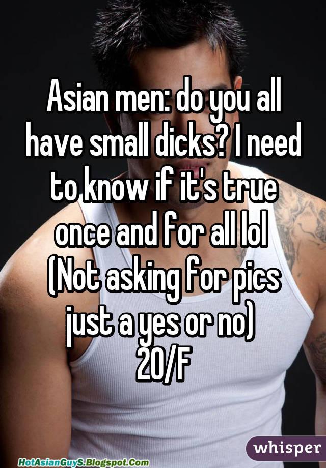 do short men have short penis