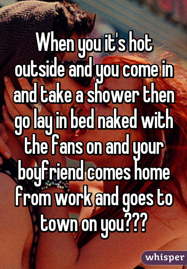 what to do when taking a shower with your boyfriend