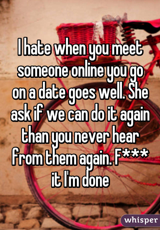 When to meet online date in person