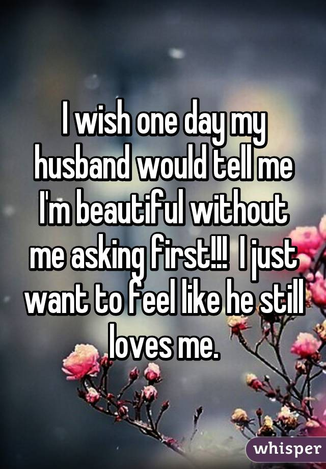 My husband is happy without me