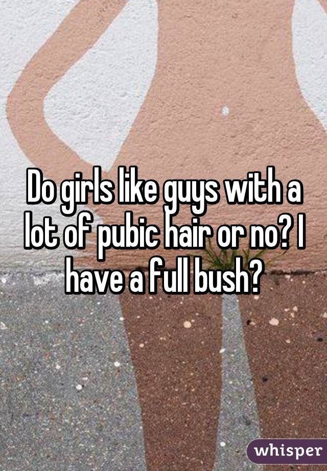 Sorry, Why do girls have public hair opinion you