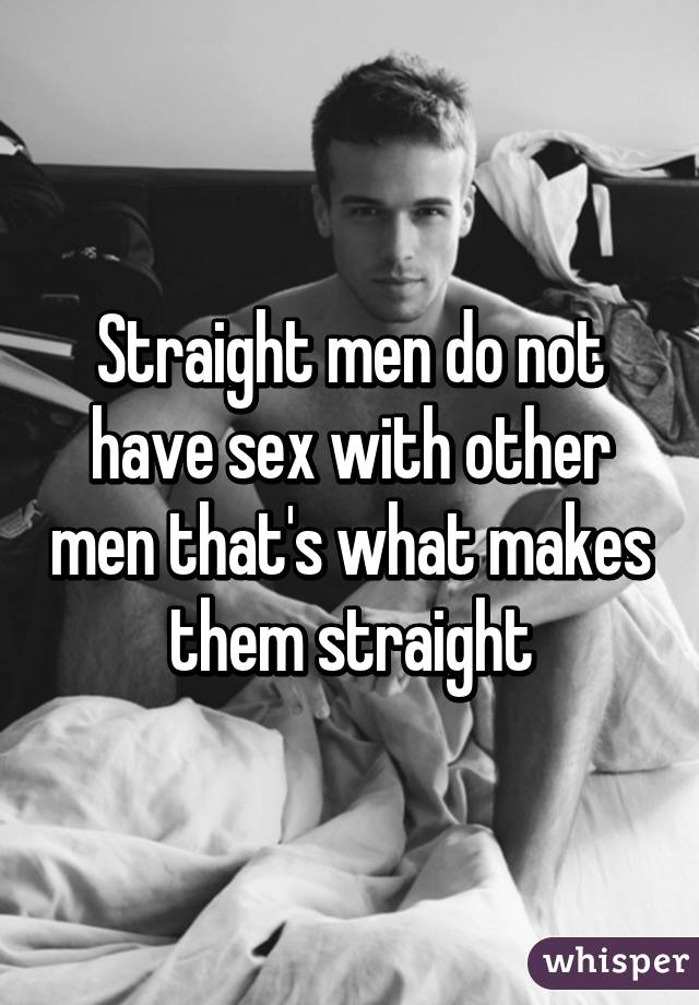 Photos of straight men sex with other men