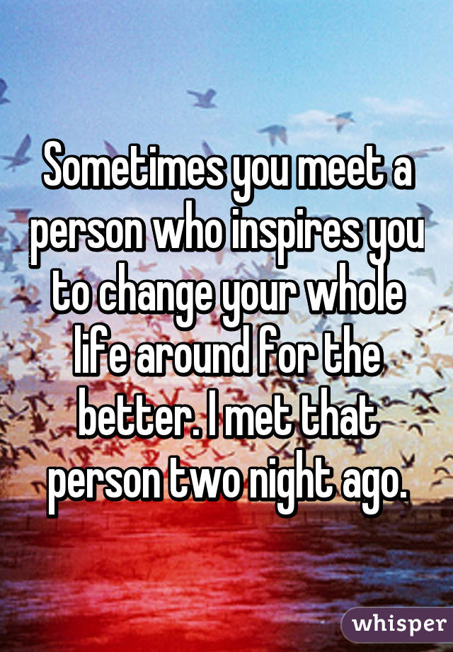 someone who motivates you