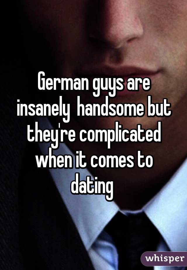 how to dating a german guy