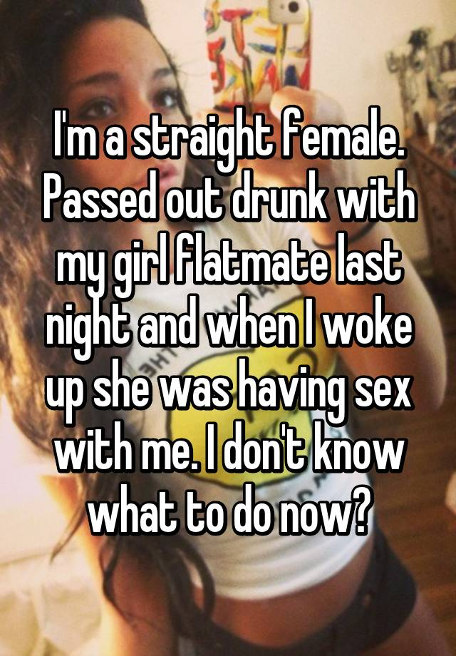 passed used out girl Drunk