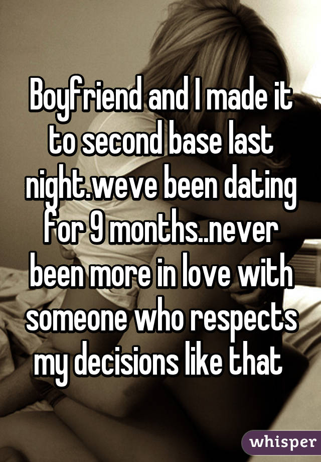 2nd base dating
