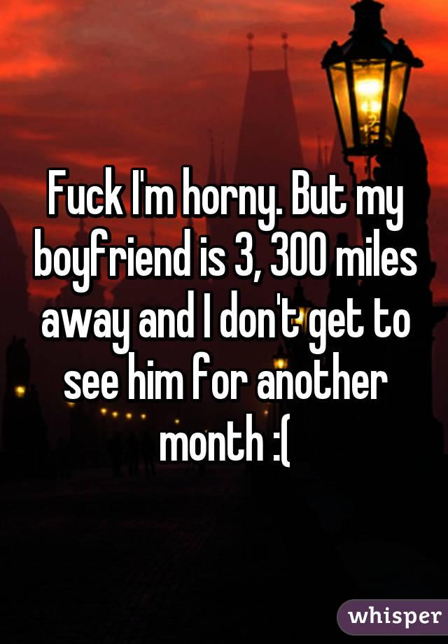 how to get boyfriend horny