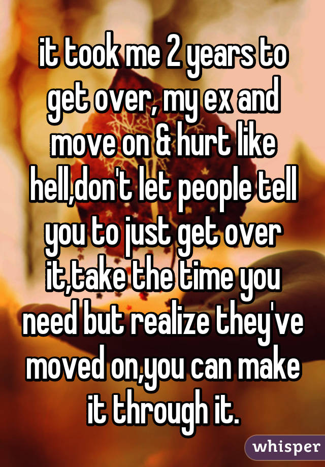 How to get over my ex