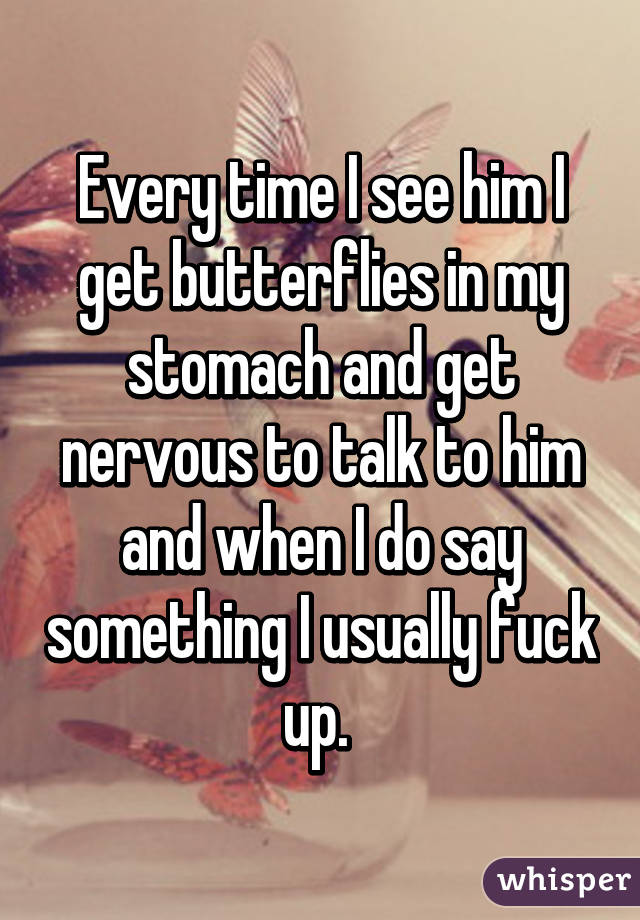why do we get butterflies in our stomachs