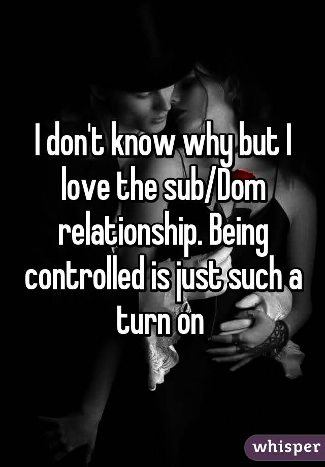 What is a dom relationship