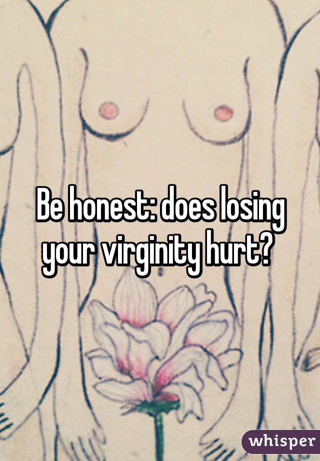 Will it hurt to lose my virginity photo 75