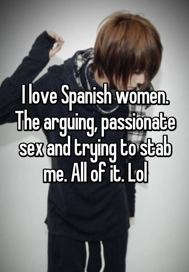 i love sex in spanish