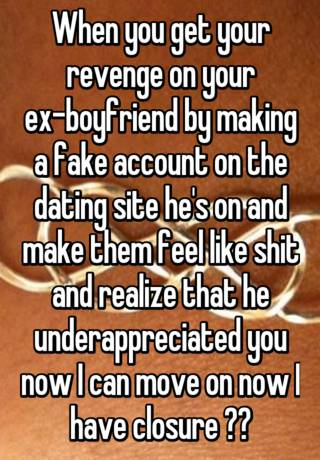 Revenge dating site
