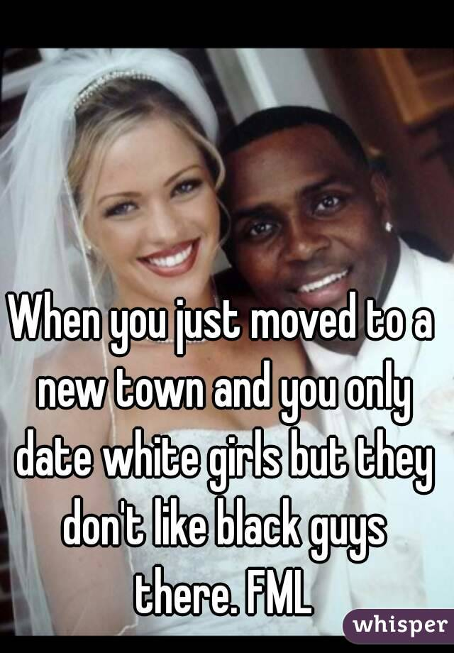 I only date black girls