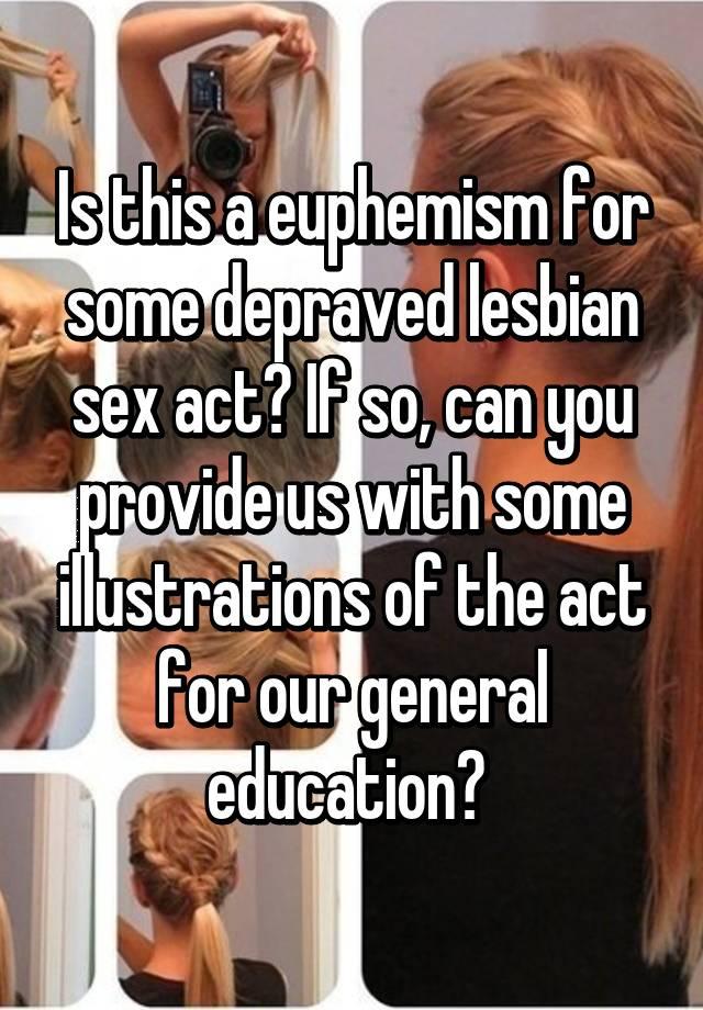 Euphemism for lesbian