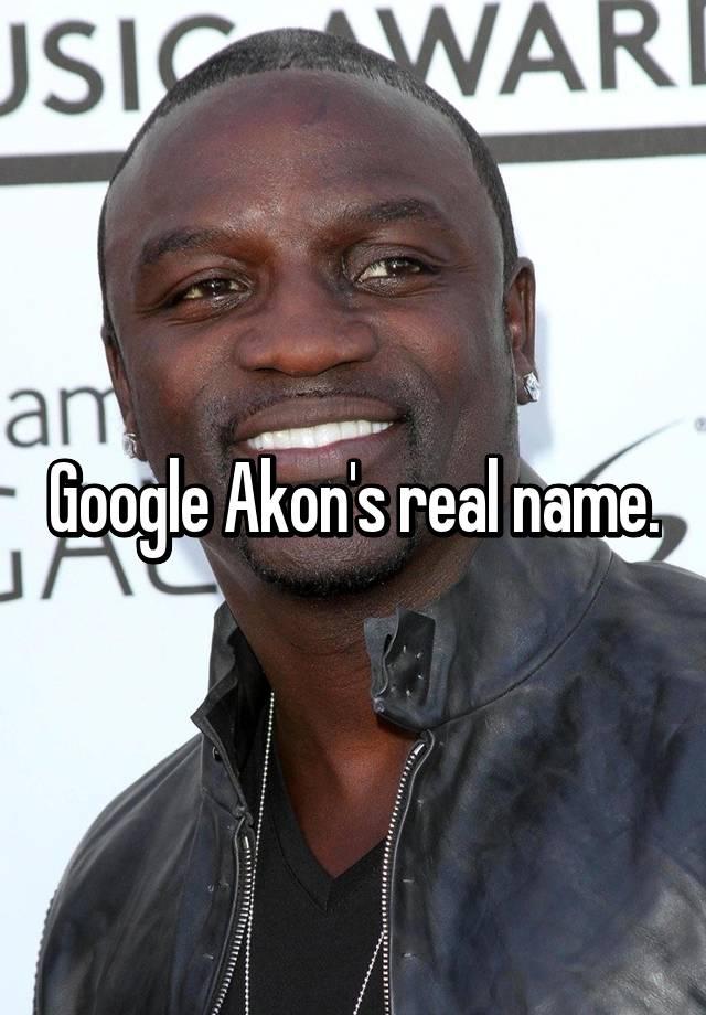 akons real name