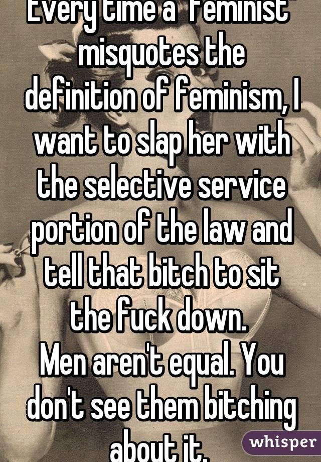 Bitching definition