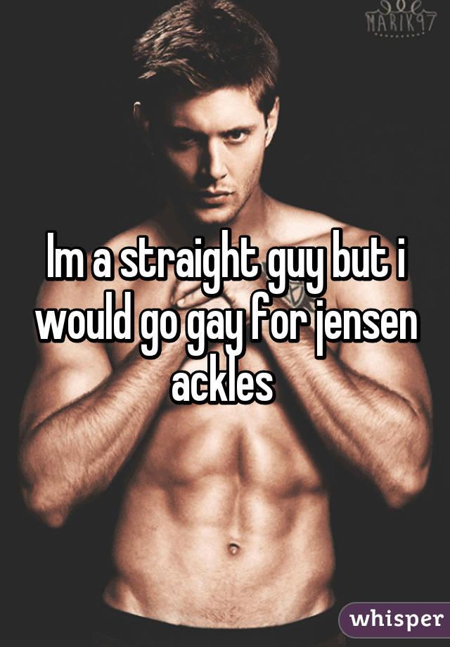 Man go gay