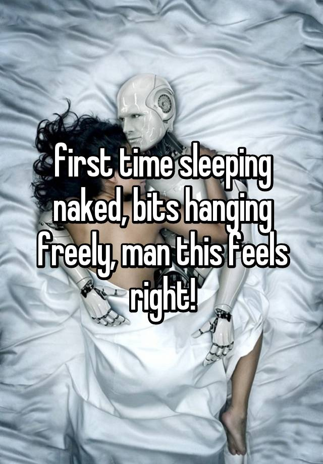 sleeping with a man for the first time