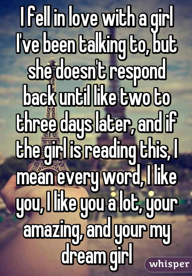 what to say to a girl you like in person