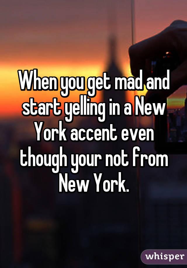 new york accent