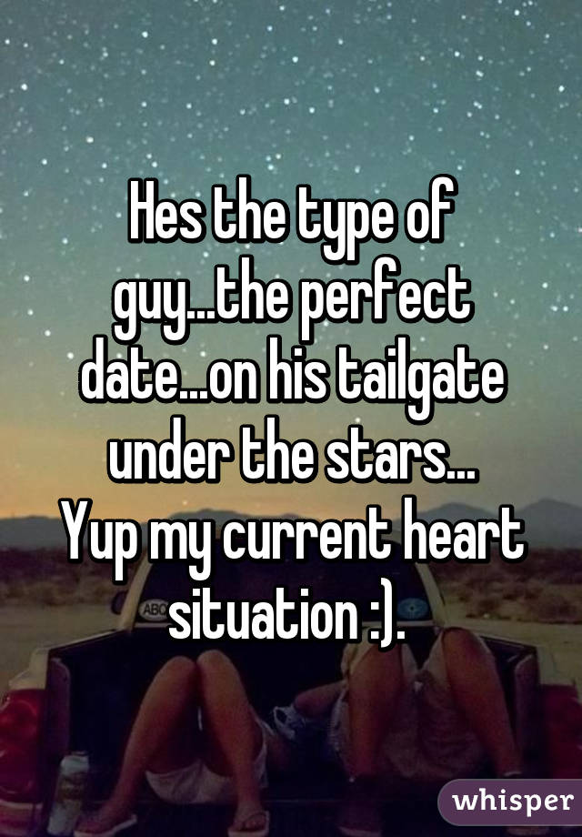 perfect date for a guy