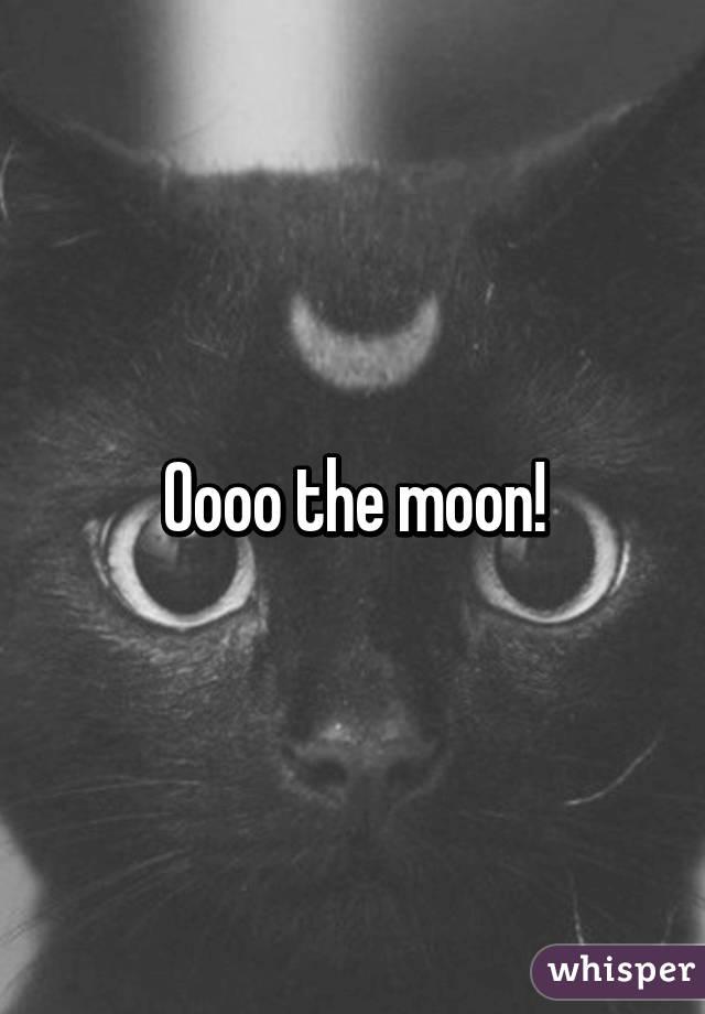 Oooo the moon!