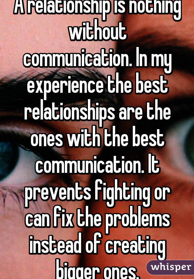 How to fix a relationship without communication